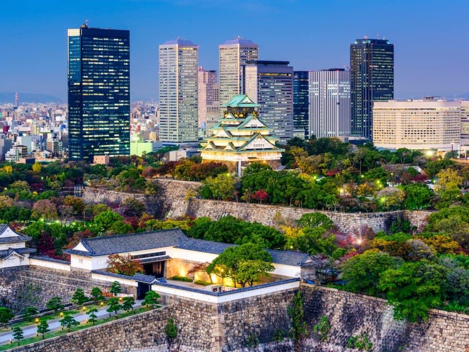 5. Осака, Япония