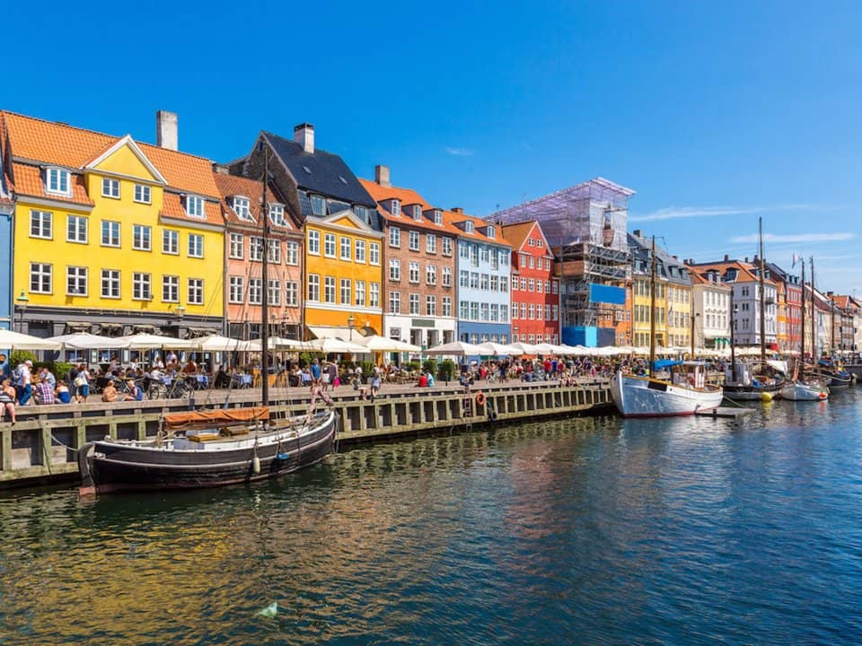 7. Копенгаген, Дания