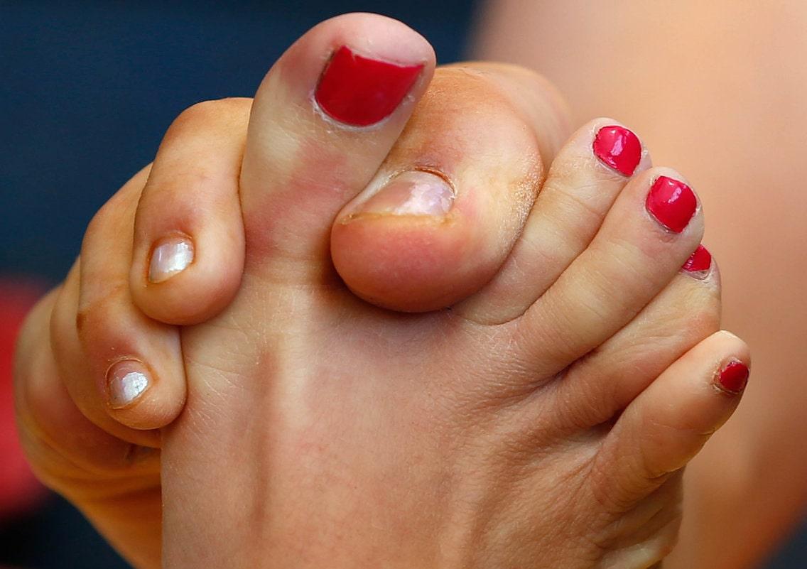 Борьба на пальцах ног