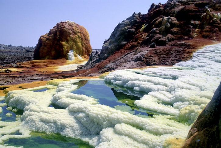 Самое горячее место в мире: Даллол, Эфиопия