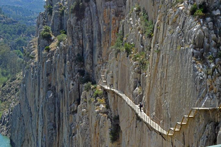 Самый опасный путь: Королевская тропа, Малага, Испания
