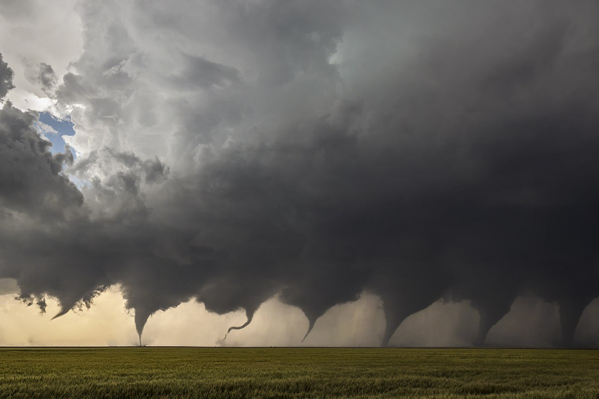Эволюция торнадо