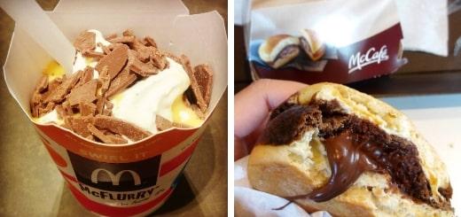 Необычная еда из McDonald's
