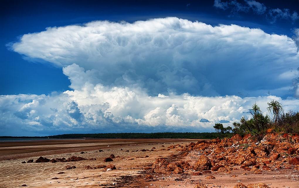 Облако Гектор в Австралии