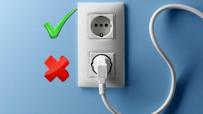 Отключите не обязательные электроприборы