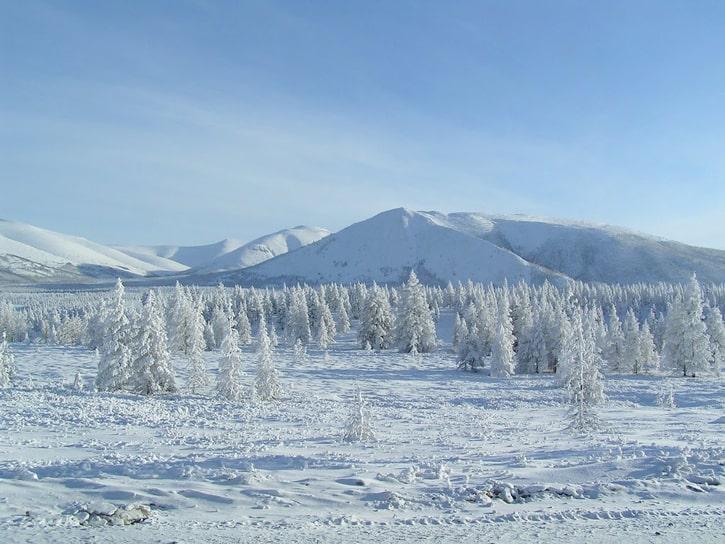 Самое холодное место на Земле: Оймякон, Россия