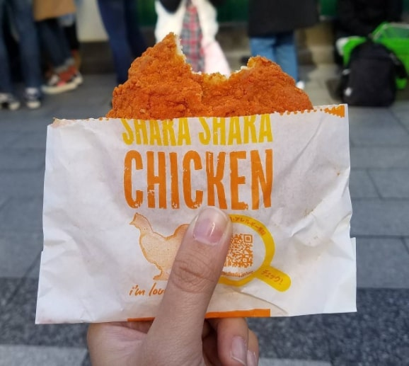 курица «Шака-шака»