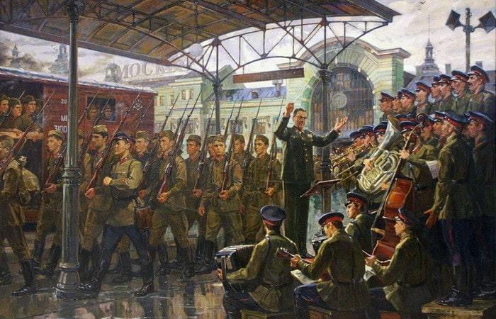 Когда появился марш «Прощание славянки»