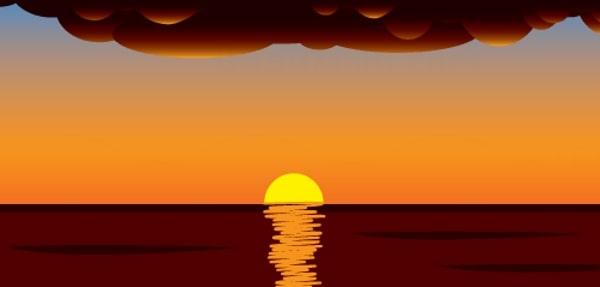 Почему закат солнца красный?