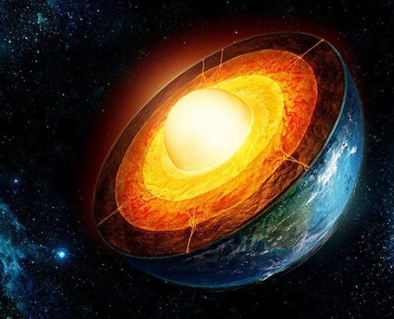 Какая температура в самом центре земного ядра