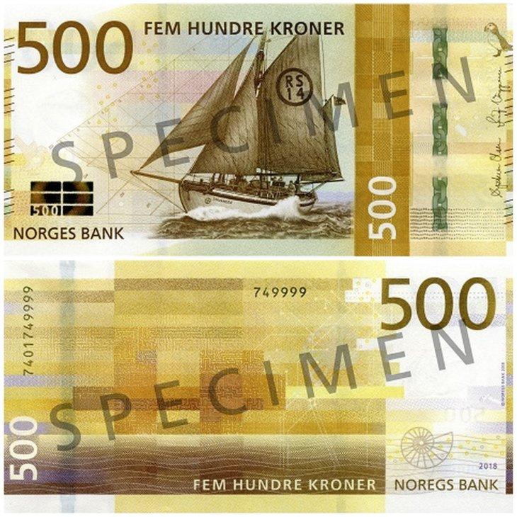 Norway's 500 Kroner