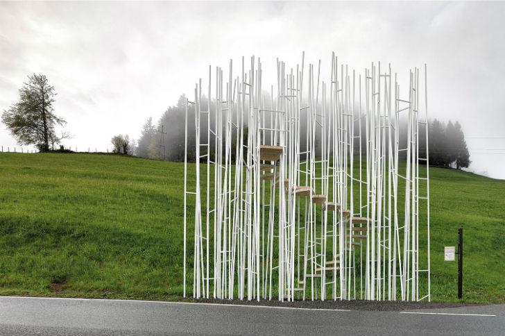 Автобусная остановка «Бранден», Австрия