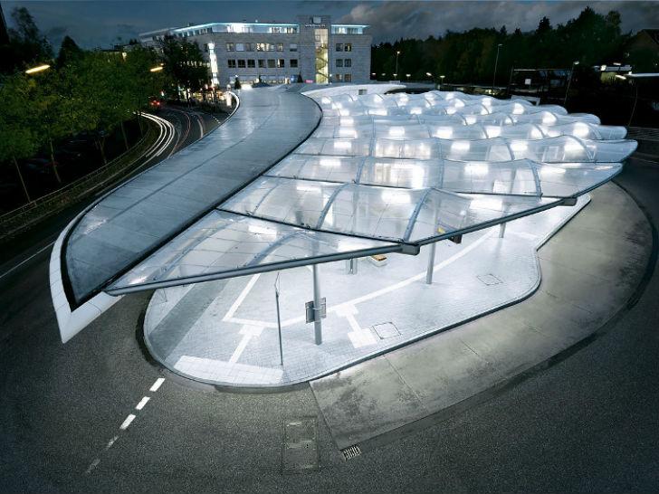 Автовокзал Поппенбюттеля, Германия