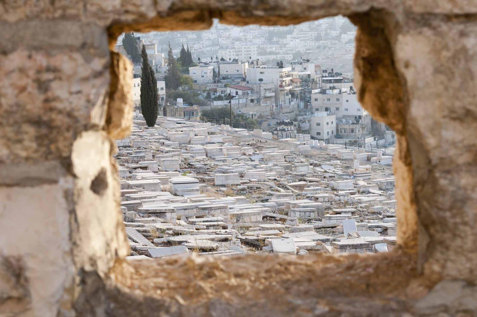 Еврейское кладбище на Елеонской горе