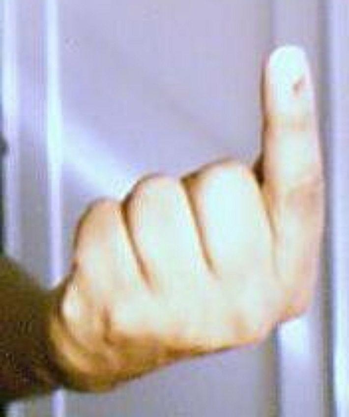 Жители Шри-Ланки заменяют классический средний палец вот таким жестом…