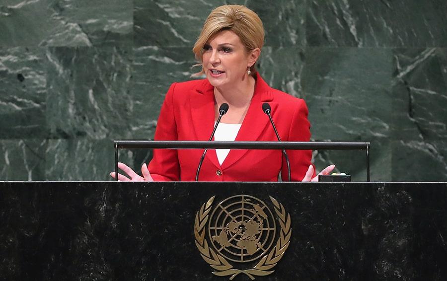 Президент Хорватии — Колинда Грабар-Китарович