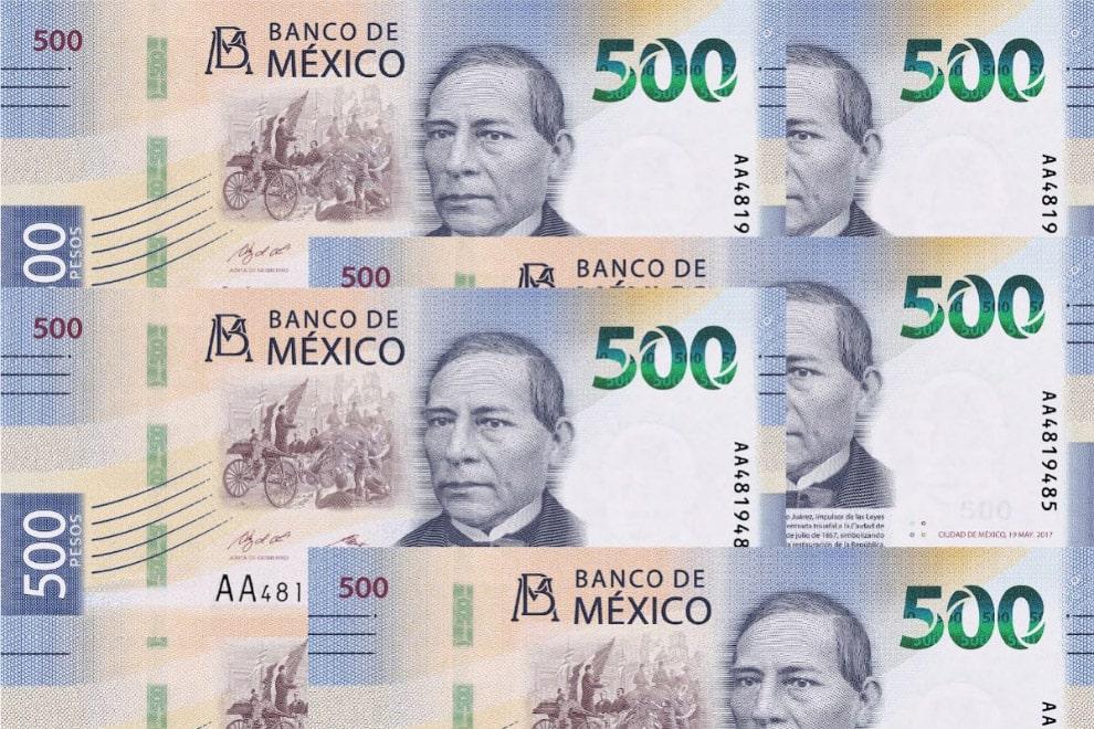 Mexico's 500 Peso
