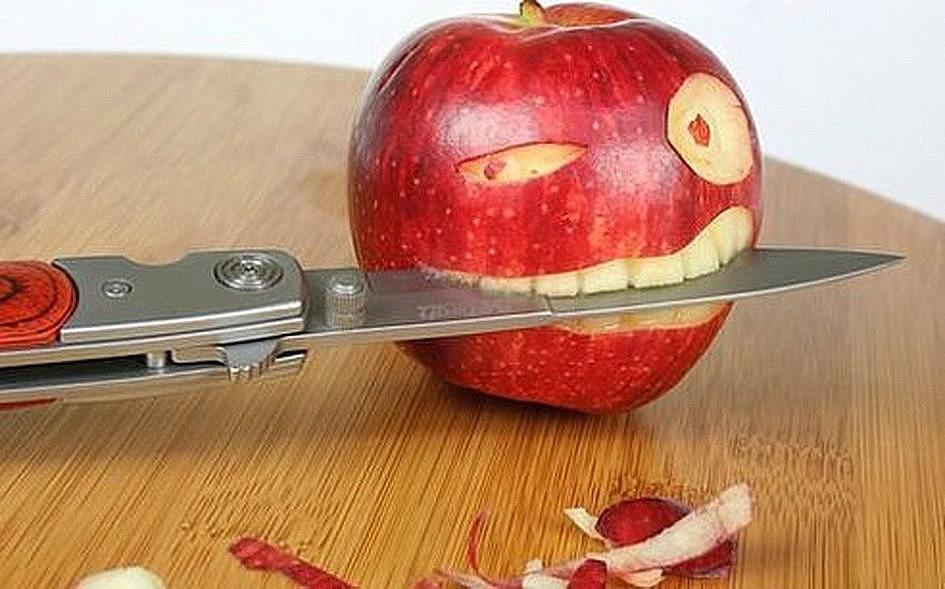 Не ешьте с ножа