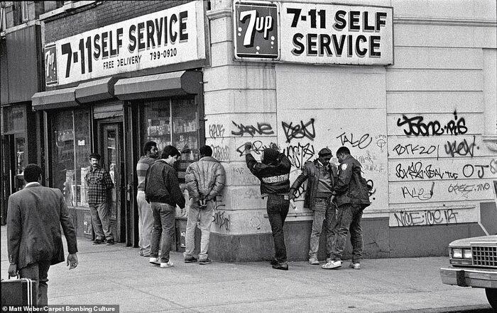 Нью-Йорк 1980-х
