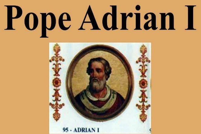 Папа Адриан I запретил татуировки
