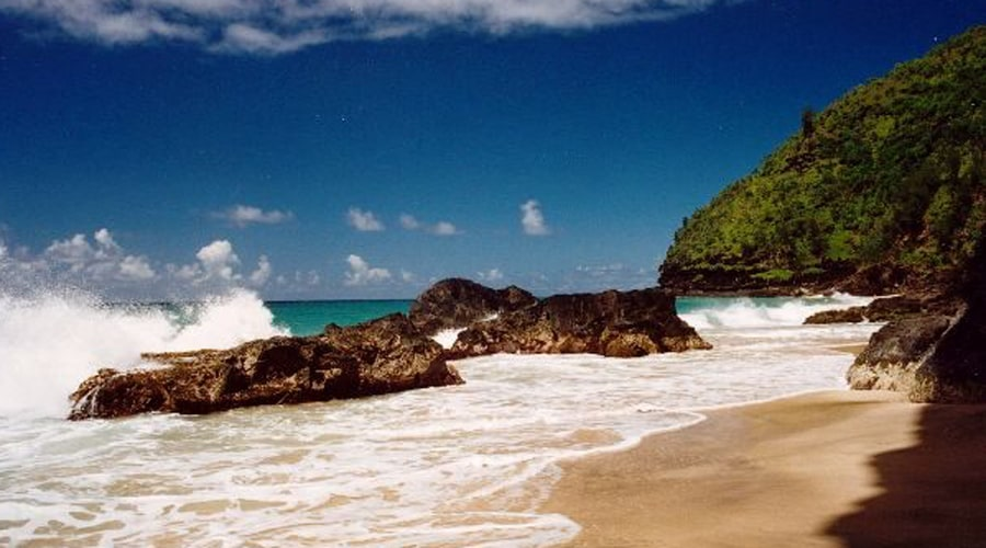 Пляж Ханакапяи
