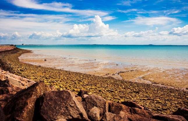 Пляжи Дарвина
