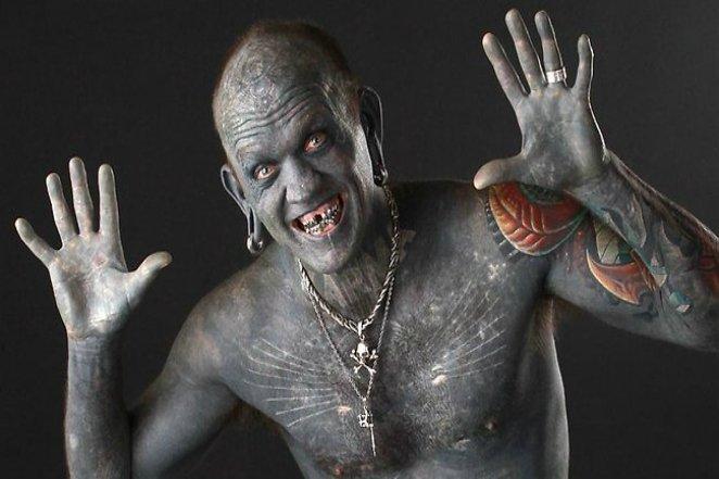 Самый татуированный человек на планете
