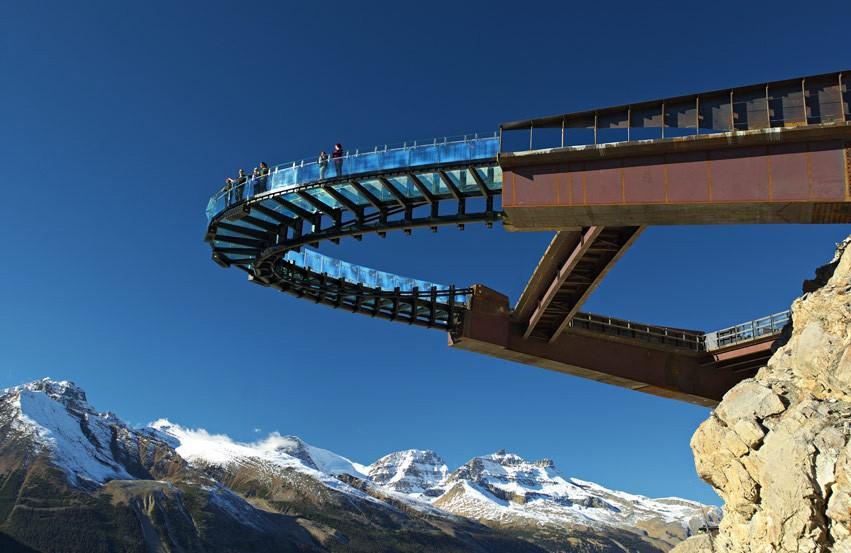 Смотровая площадка Glacier Skywalk