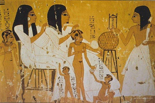 Тату в Древнем Египте