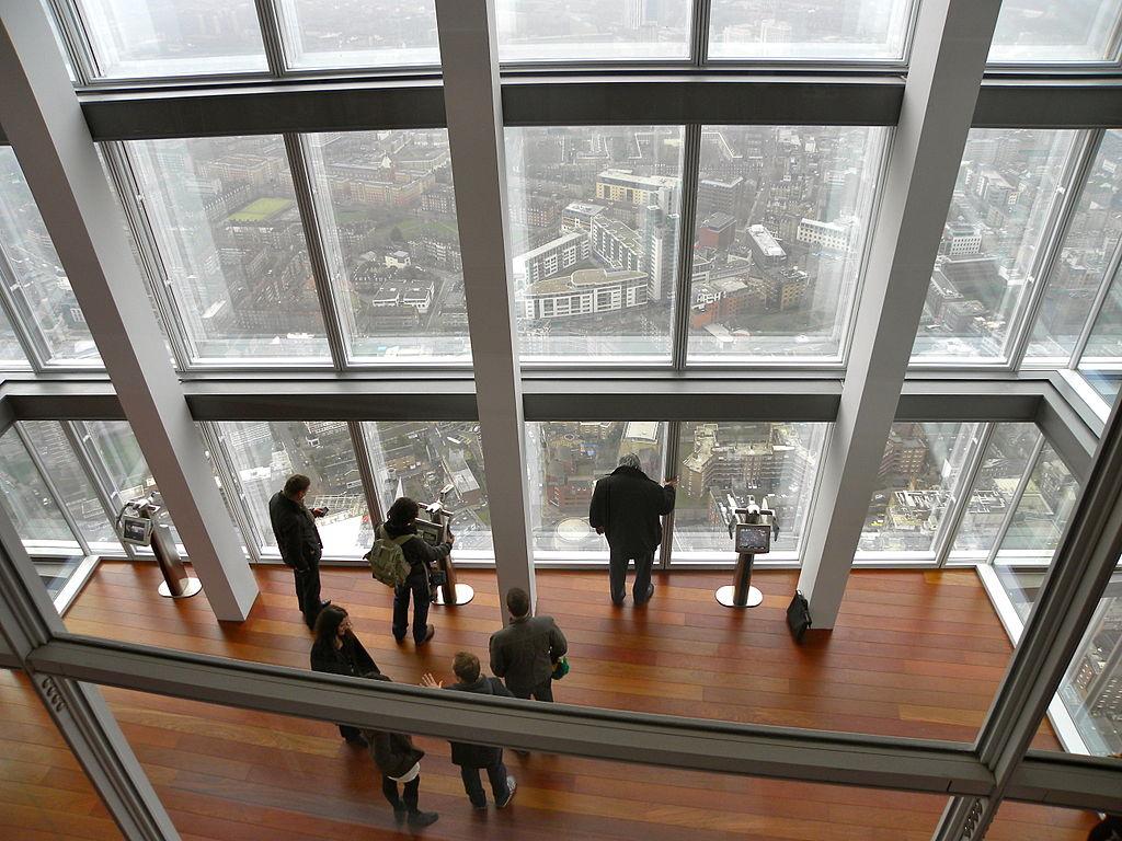 Смотровая площадка The View from The Shard