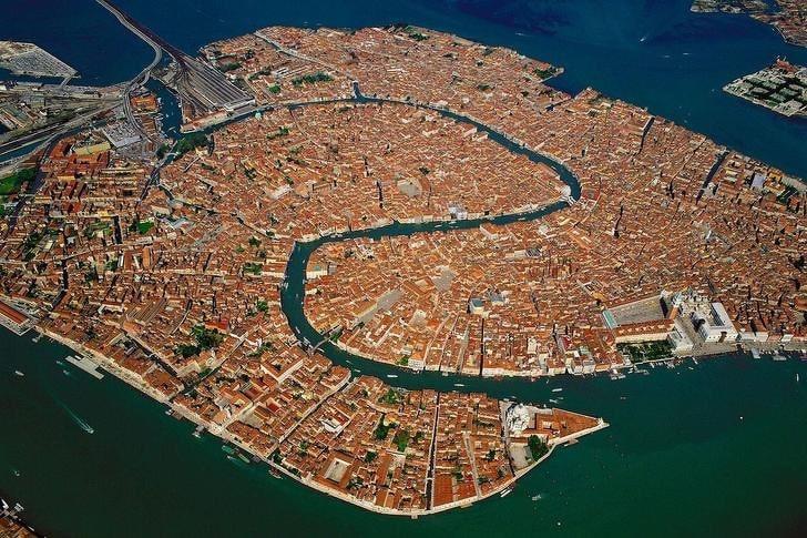 Венеция с неба