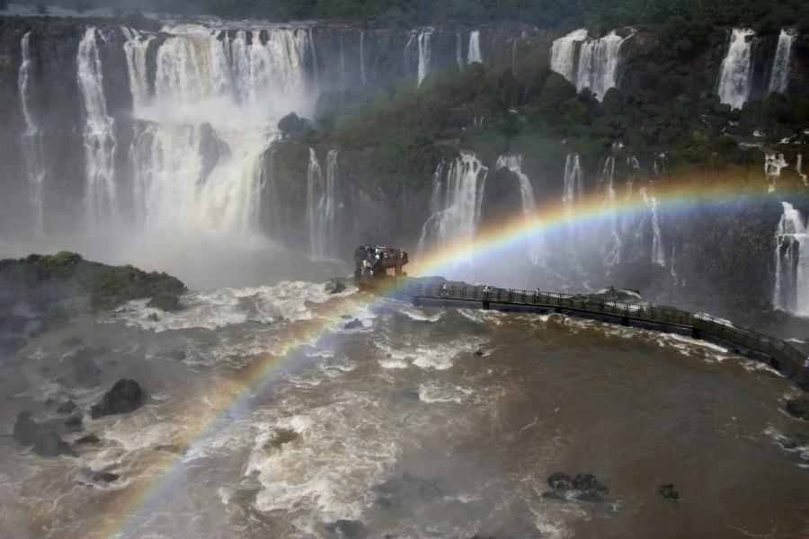 Водопады Игуасу,