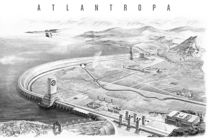 Футуристический геоинженерный проект «Атлантропа»