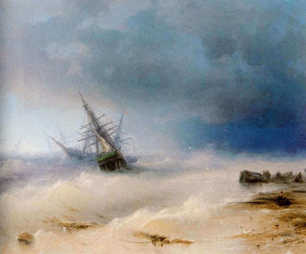 Буря, 1872 г.