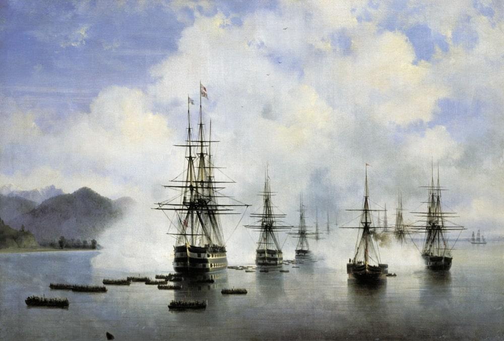 Десант Н.Н.Раевского у Субаши, 1839 г