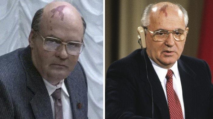 Дэвид Денсик в роли Михаила Горбачёва
