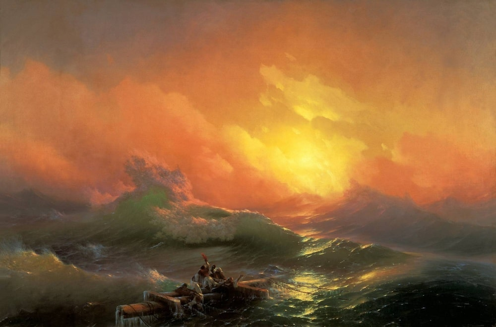 Девятый вал, 1850 г