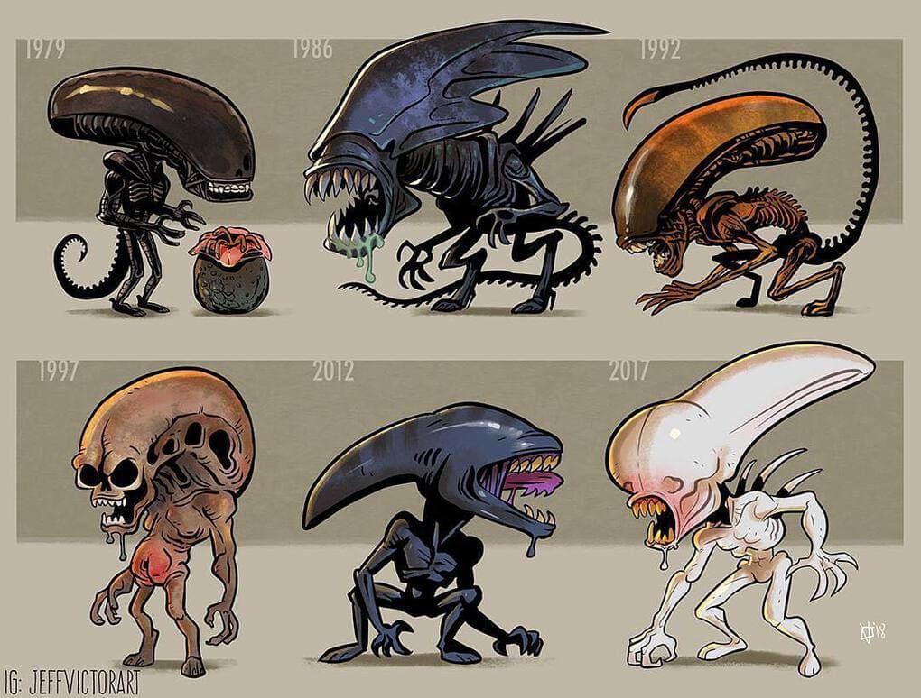 Эволюция ксеноморфов