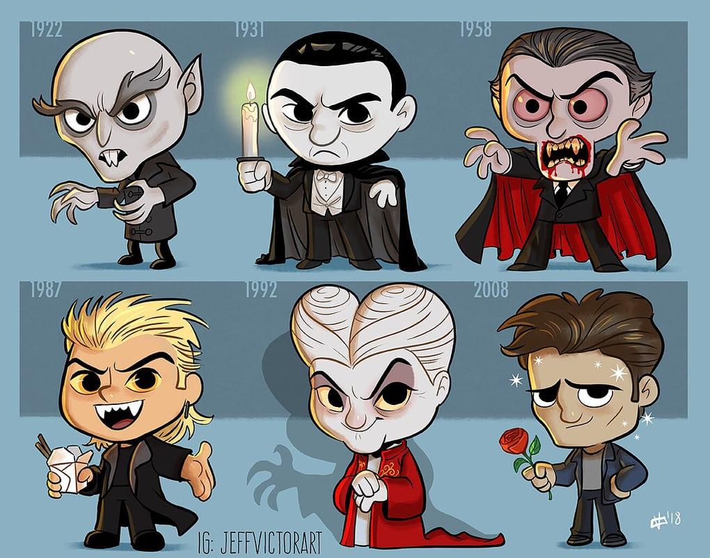 Эволюция вампиров