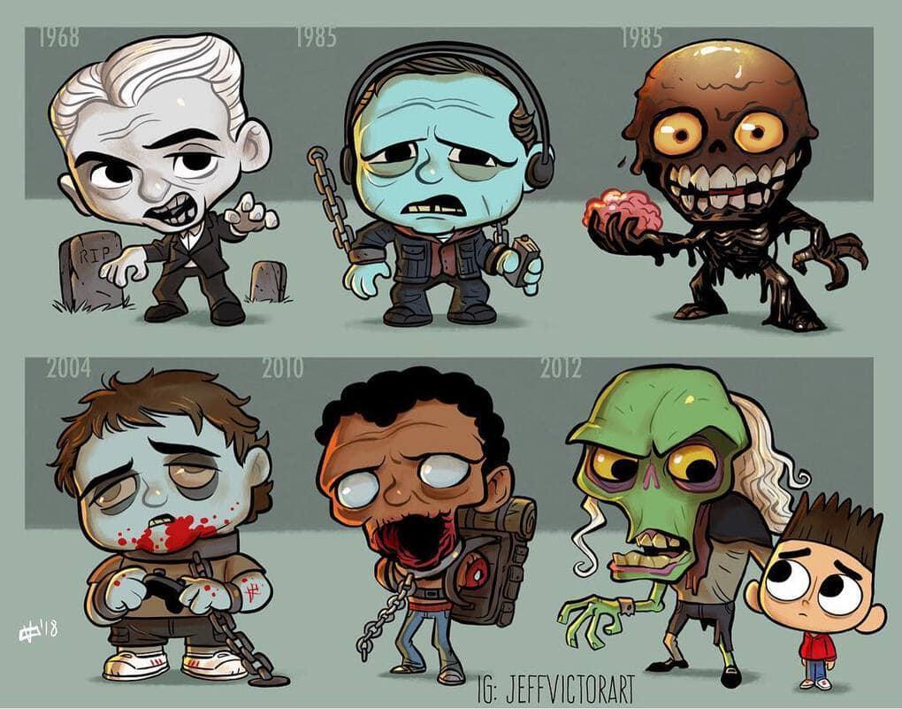 Эволюция зомби