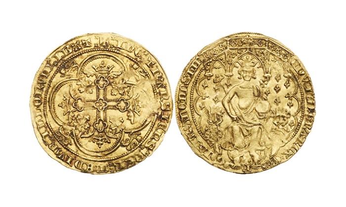 Флорин Эдуарда III, 1344 год