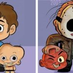 Как изменялся внешний вид монстров в фильмах разных лет