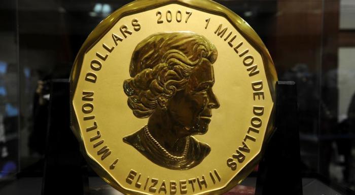 Миллион долларов с изображением Елизаветы II, 2007 год
