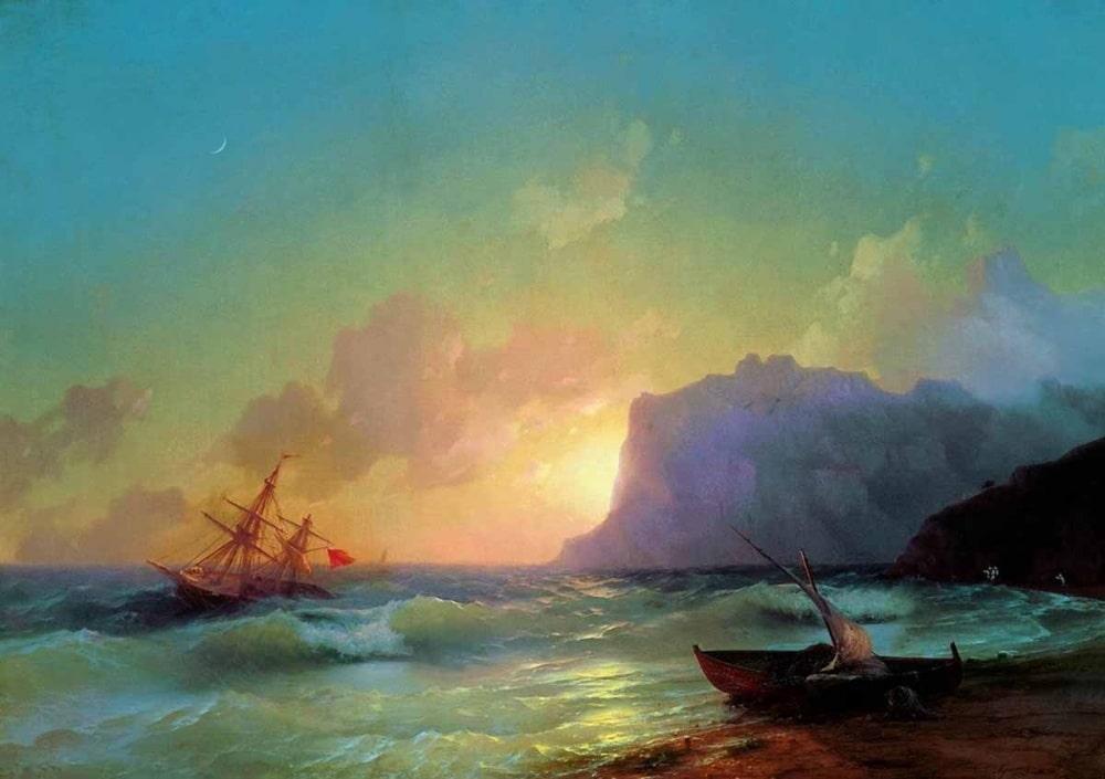 Море. Коктебельская бухта, 1853 г