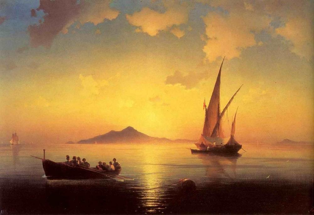 Неаполитанский залив, 1841 г