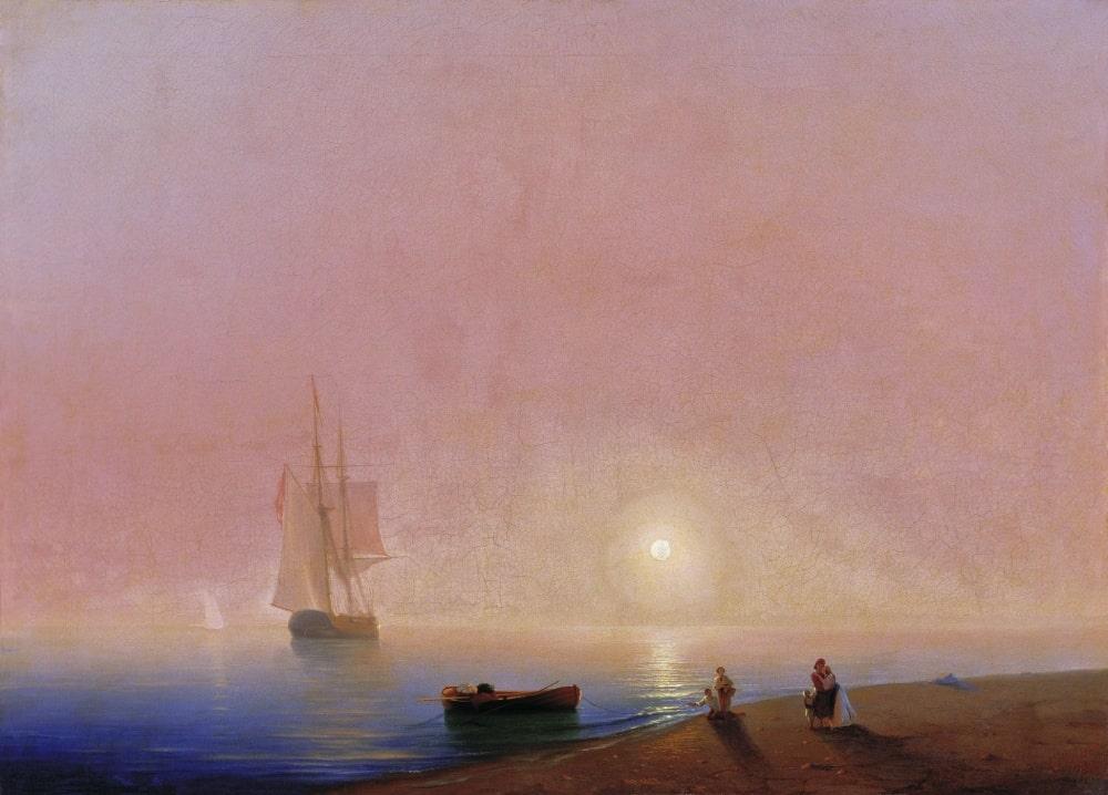 Прощание, 1869 г