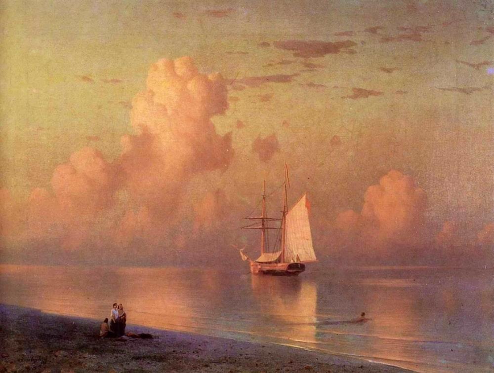 Закат, 1866 г.