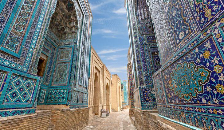Мавзолеи Шахи-Зинда, Узбекистан