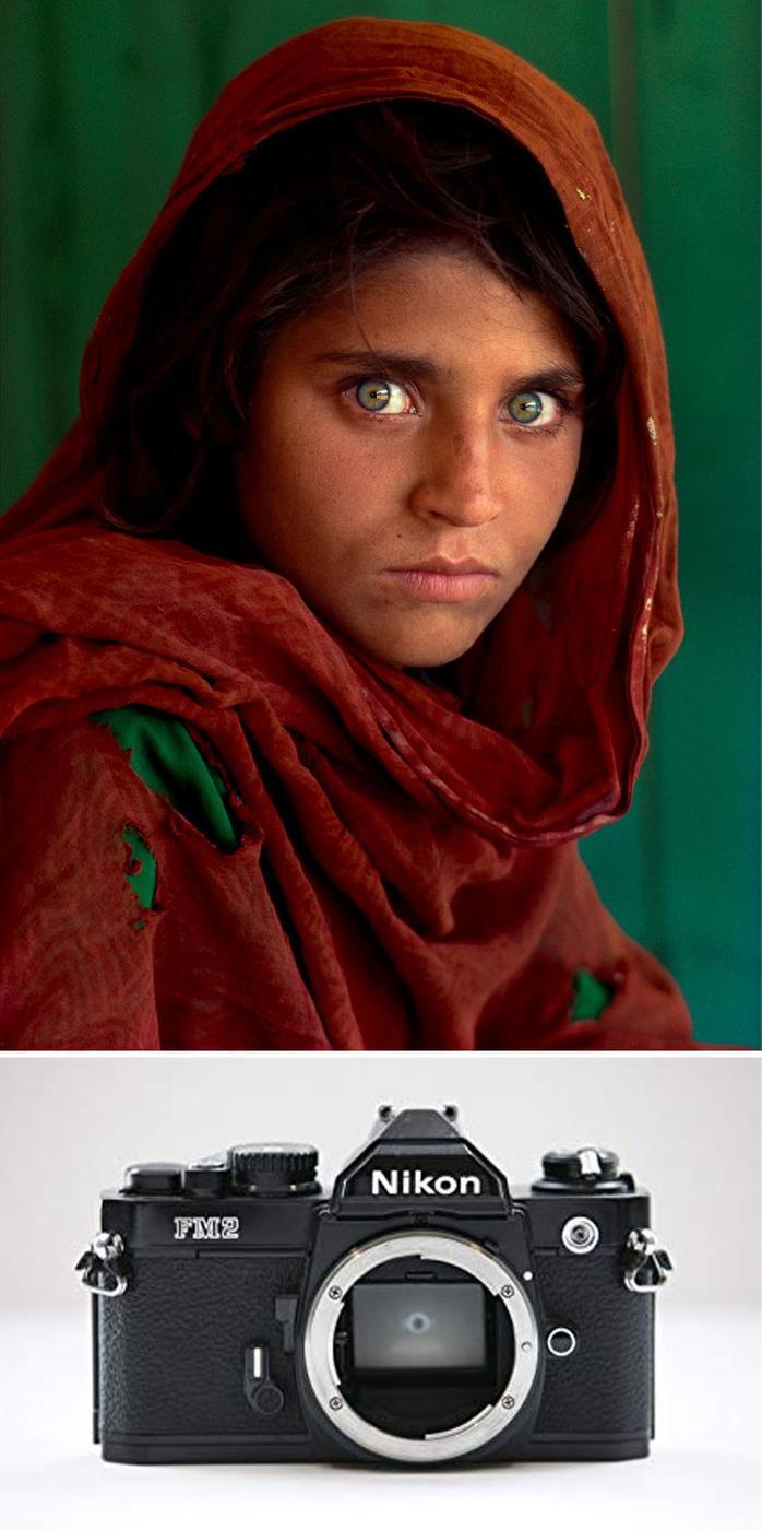 «Афганская девушка», Стив Маккарри, 1984
