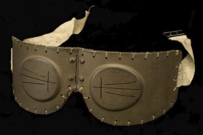 Брезентовые очки